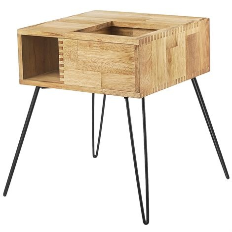 Retro plant table - wood - Cult Design.  Contact me at info@delamarieinteriors.com to find out more or to purchase Cult Design Sweden items. www.delamarieinteriors.com
