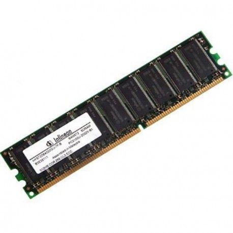 Ram Barrette Memoire INFINEON 512Mo DDR SDRAM PC-2100U 266Mhz HYS64D64020GU-7-B