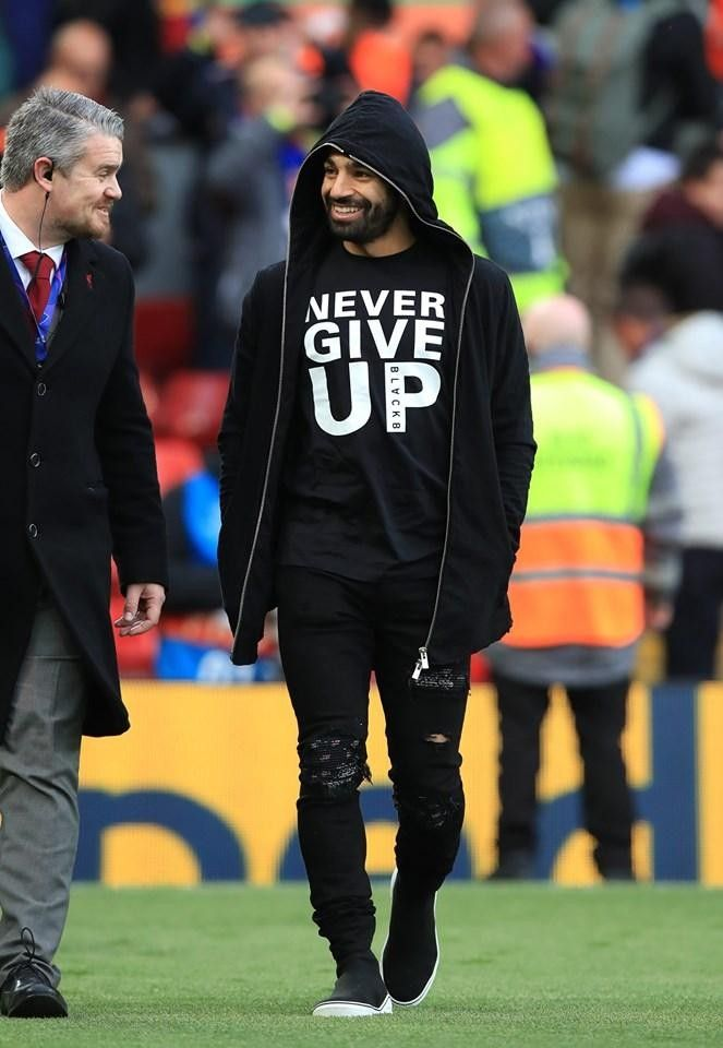 f8cb97b25dfd9 NEVER GIVE UP. #MoSalah 🔝 | S A L A H | Mo salah, Liverpool ...