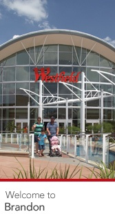Westfield Brandon mall in Brandon, FL.   I think we were here twice in our first week.