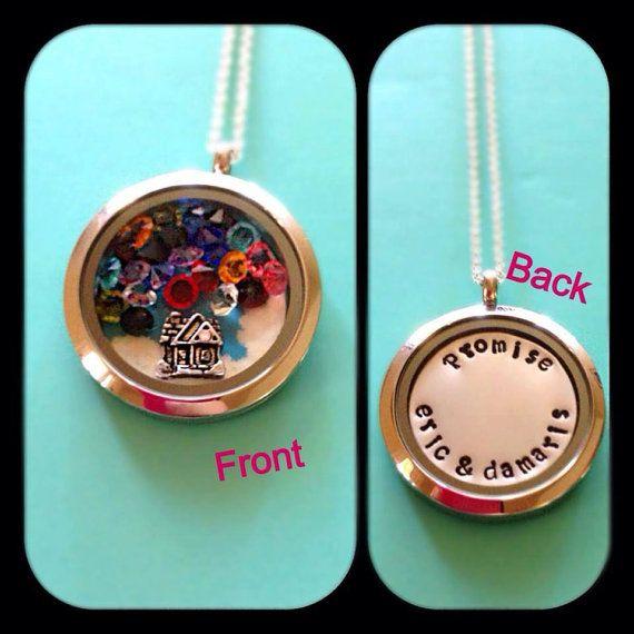 @Annika Alexander  Up inspired disney floating charm memory locket by norabethrigney, $85.00