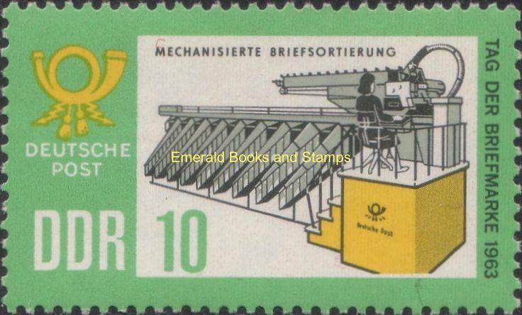 EBS East Germany DDR 1963 Stamp Day Tag der Briefmarke Michel 998-999 MNH** | eBay