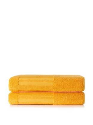 50% OFF Garnier-Thiebaut Set of 2 Bath Sheets, Mango