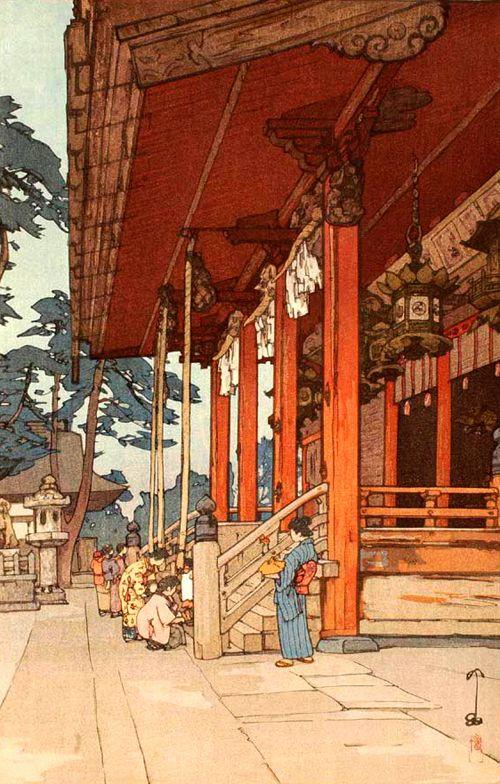 吉田博 (Hiroshi Yoshida)
