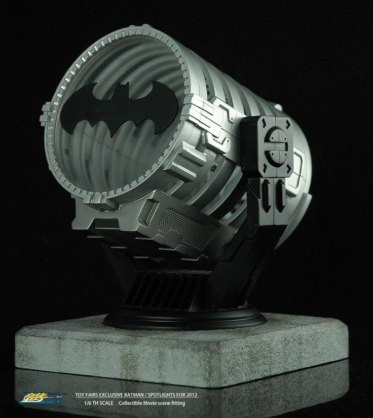 Bati-señal Batman. Bat Spotlight con luz, 18cm