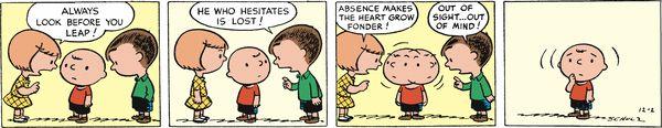 Mar 8 Peanuts Begins