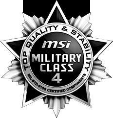 Military Class components
