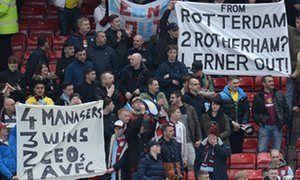 Sir Doug Ellis wants Randy Lerner to be hands-on after Aston Villa relegation