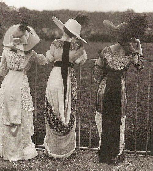 Fashion From 1910 | Fashion 1910 | Enchanting, Charming Photo!