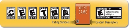ESRB Rating & Content Descriptor Guide     The Entertainment Software Rating Board (ESRB) ratings are designed to provide concise and impartial information about the content in video games and mobile apps so consumers, especially parents, can make informed choices. ESRB ratings have two equal parts: rating symbols suggest age appropriateness and content descriptors indicate elements that may have triggered a particular rating and/or may be of interest or concern.