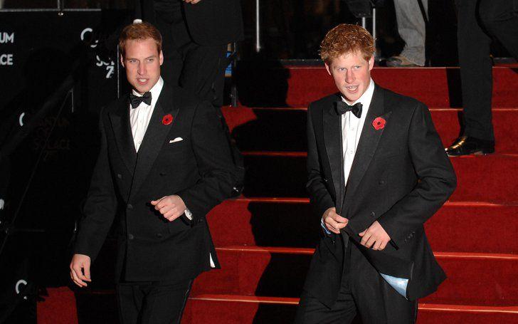 Pin for Later: Prinz Harry hat sich ganz schön gemausert  In echter James Bond Manier liefen Harry und William bei der Premiere von Ein Quantum Trost im Oktober 2008 über den roten Teppich.