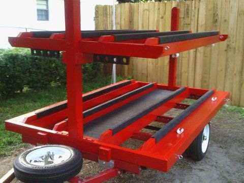 16 best images about kayaking on pinterest posts trucks for Harbor freight fishing cart