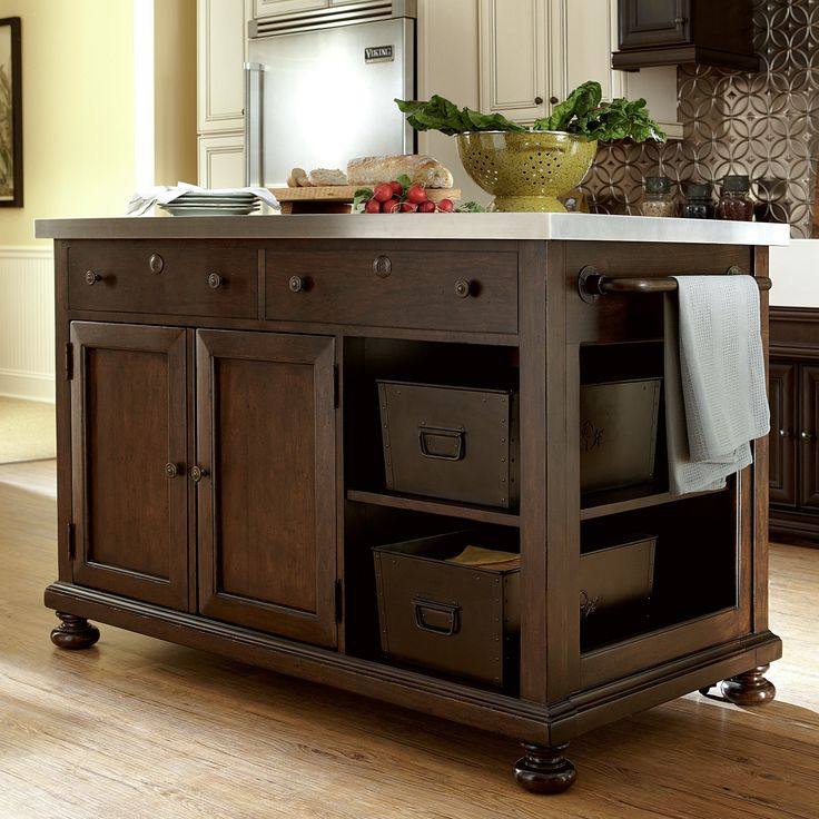 Amazing Rustic Kitchen Island Diy Ideas 26: Best 25+ Mobile Kitchen Island Ideas On Pinterest
