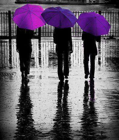 Purple is the colour of my life