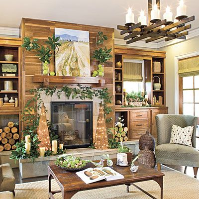 rustic cottage holiday decor