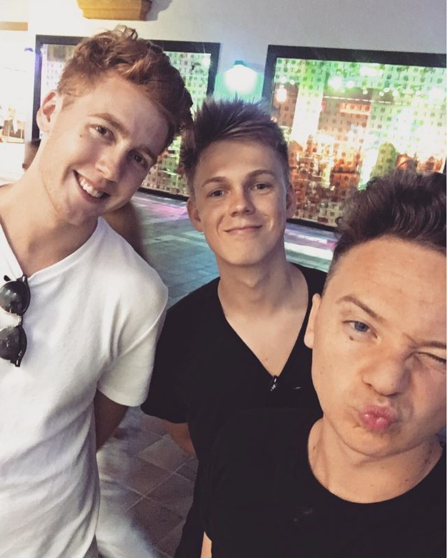 Had an amazing night time in Marbella with these boys