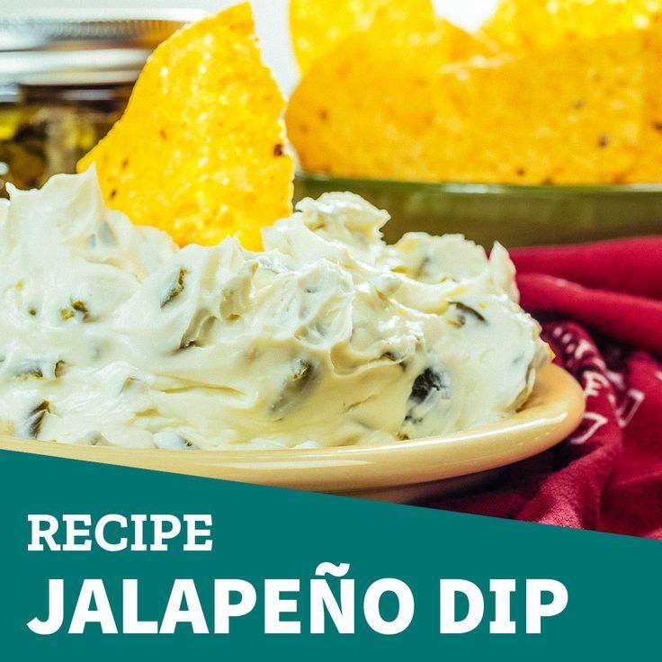 Enjoy your taquitos with this #Jalapeño #dip