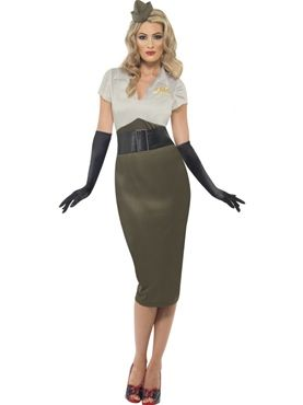 Army Pin Up Costume(38816)  Cute!  Next Halloween??