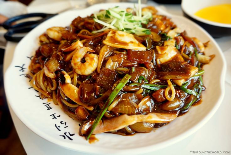 Corea del Sur | South Korea | Korean Food | Comida coreana | Jajjangmyeon