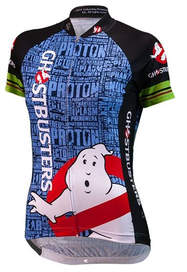 Ghostbusters Women's Cycling Jersey - FREE shipping in the US at http://www.cyclegarb.com/brainstorm-gear.html