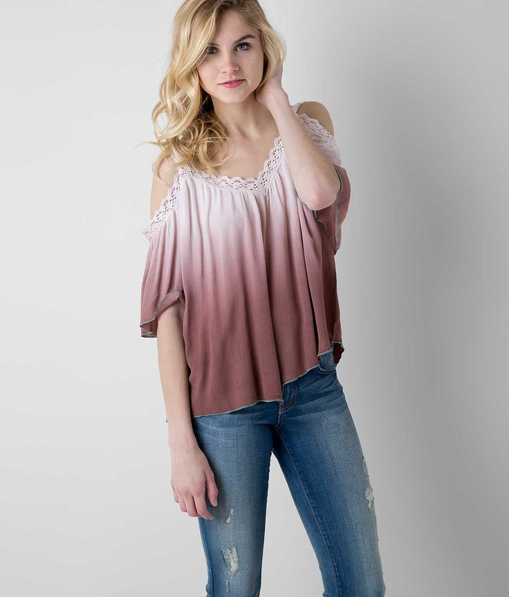 Gimmicks by BKE Dip Dye Top - Women's Shirts/Tops | Buckle