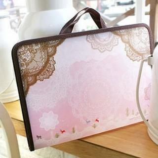 Lace-Print File Folder from #YesStyle <3 Na Na YesStyle.com