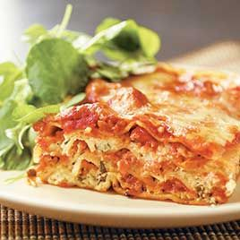 Simple cheese lasagna