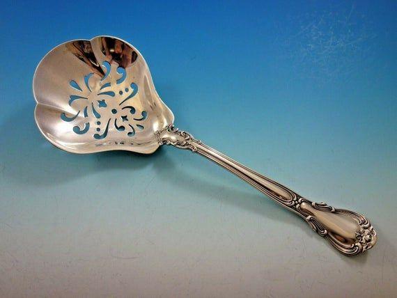 "Strasbourg by Gorham Sterling Silver Chocolate Spoon 4/"""