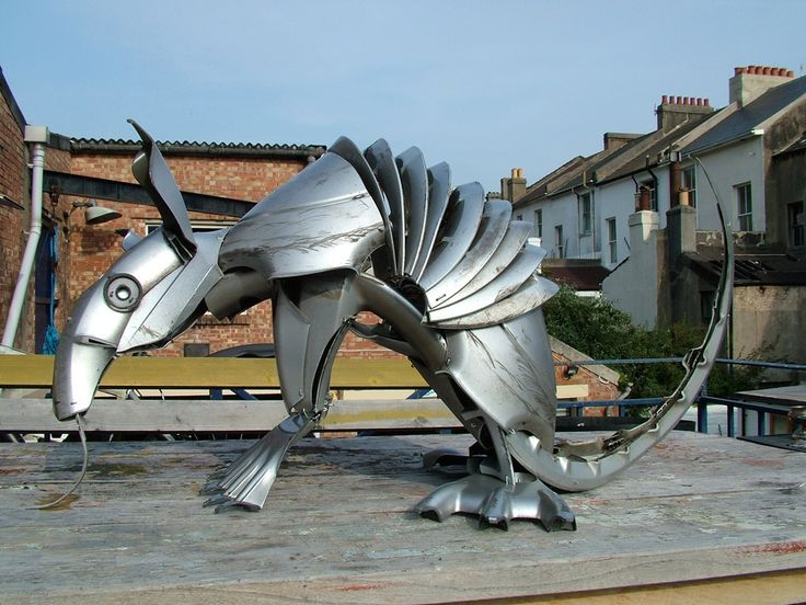 Enough fish. Bring out the hubcap Armadillo!  #hubcapcreatures #hubcaps #upcycled #recycled #reclaimedmaterials #armadillo #art #sculpture
