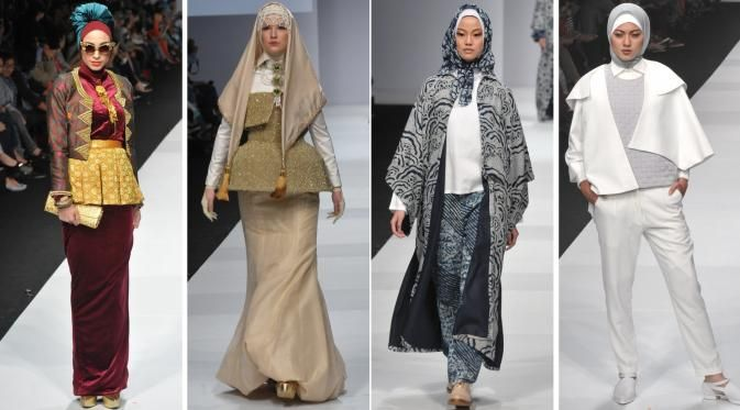 hijab-fashion-trends 2015 Tulisan ini tentang tren busana muslim 2015 yang menjadi pusat perhatian industri fashion, pemilik merk dan konsumen di seluruh dunia. Para designer busana muslim cenderung memadukan abaya/hijab dengan pakaian daerah seperti batik, kebaya dan lainnya menjadi ide rancangan busana muslim. Lalu mengisi agenda design busana dengan pola dan gaya tunik modern yang elegant itu di tahun ini?