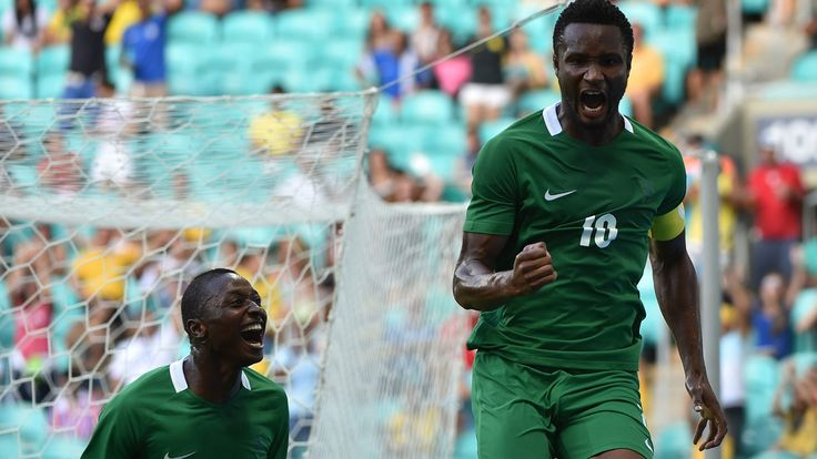Eagles never demanded for payment in dollars says Mikel   John Obi Mikel (R) of Nigeria celebrates his goal scored against Denmark during the Rio 2016 Olympic Games mens quarter-final football match Nigeria vs Denmark at the Arena Fonte Nova Stadium in Salvador Brazil on August 13 2016 NELSON ALMEIDA / AFP  Japanese surgeons cash for Rio Olympics team ready Super Eagles Captain John Obi Mikel has denied that he told the Nigeria Football Federation (NFF) leadership that senior national team…