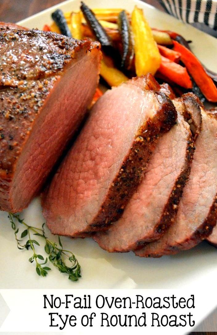 Follow This High Temperature Then Long Rest Method For Perfect Eye Of Round Every Single Time Roast Beef Recipes Roast Beef Recipes Oven Cooking A Roast