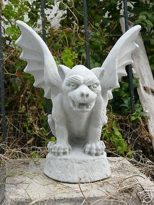 Gargoyle Concrete Statue Garden New Stone Vintage Gift Yard Art Ebay