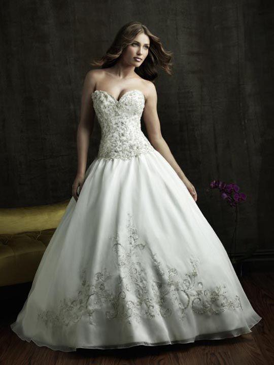 33 best Ball Gown Wedding Dresses images on Pinterest | Short ...