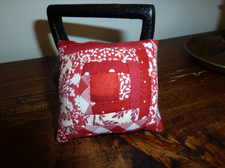 Boite à couture : pique-épingles patchwork
