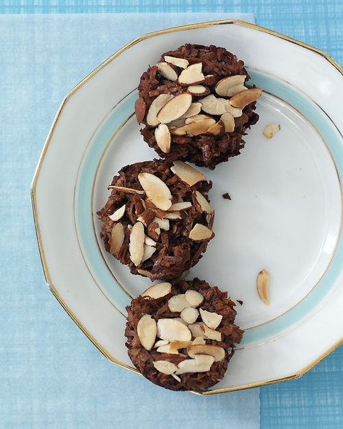 Chocolate-Coconut Macaroon Cups Recipe