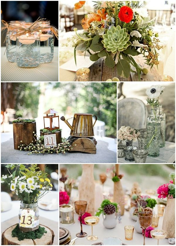 Images about country centerpieces on pinterest