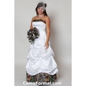 Camo Wedding Dress-- no ideas just love it. Haha.