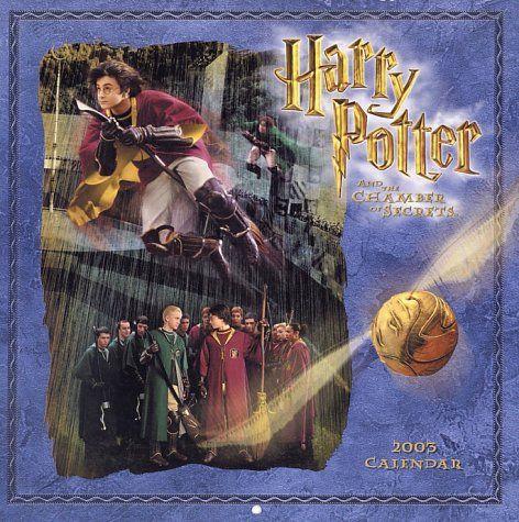 Harry Potter y la cámara secreta calendario 2003.