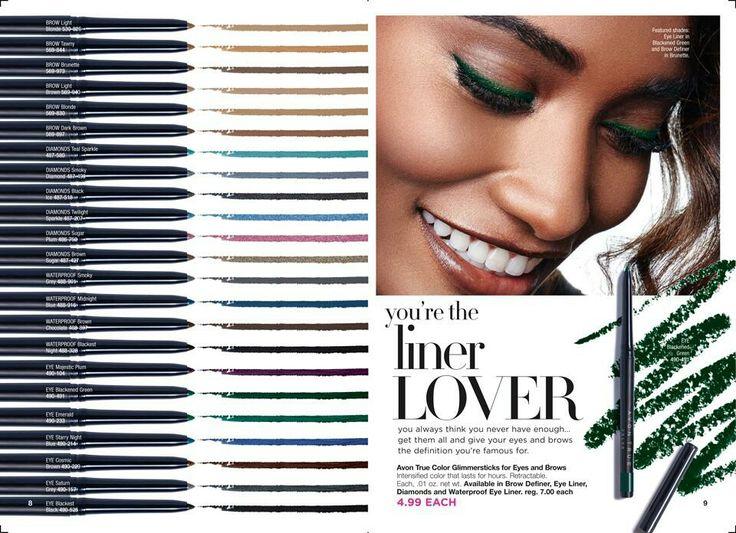 Avon True Color Glimmersticks Waterproof Eye Liner Sale $4.99 Make your eyes pop with more intensified shades with Avon True Color Glimmersticks Waterproof Eye Liner!