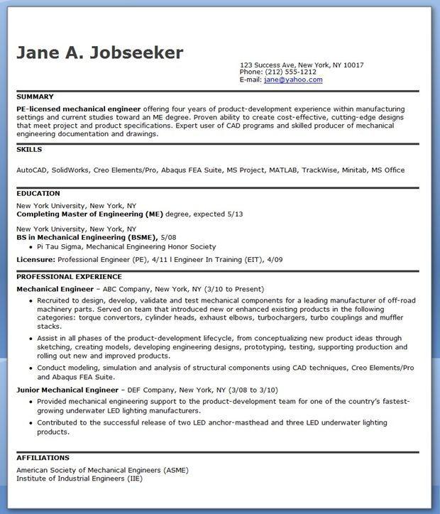 3 Years Resume Format 2-Resume Format Engineering resume