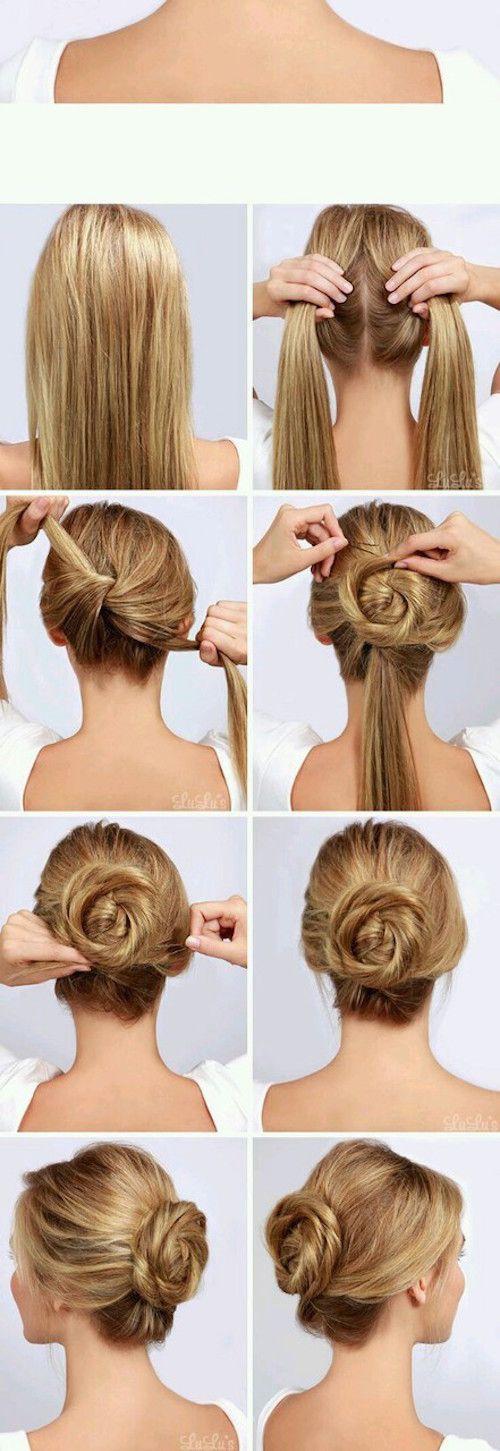 5 Tutos coiffures rapides pour chaque jour de la semaine #2 - Les Éclaireuses