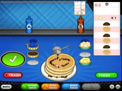 Papas Pancakeria - Game Play