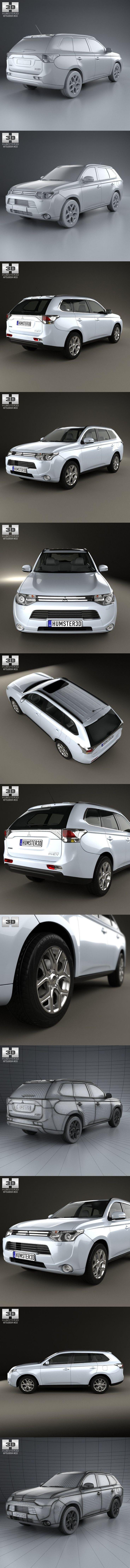 Mitsubishi Outlander PHEV 2013 #mitsubishi #mitsubishioutlander