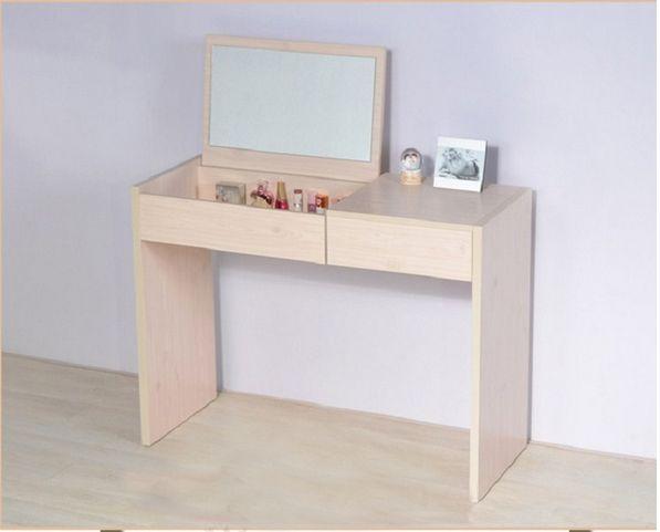 Vera e propria Moda Como Como trucco semplice e Moderno Tavolo scrittoio specchio da trucco di Tavolo nel gabinetto