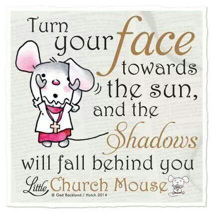 Shadows behind