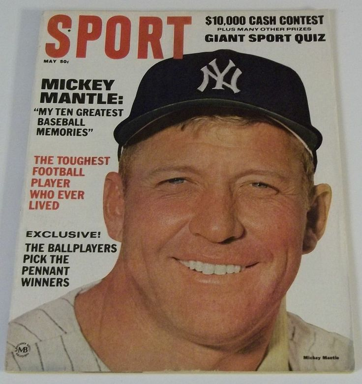 Legends Original Inside Sports: 534 Best Images About MICKEY MANTLE #7 On Pinterest