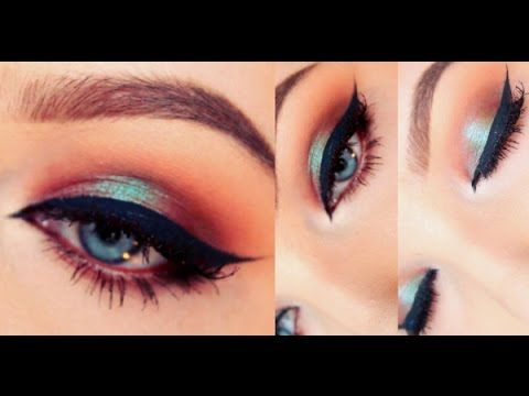 Gorgeous for fall! Check out this Blue/red makeup tutorial - Wet 'n' Wild Comfort Zone palette - YouTube