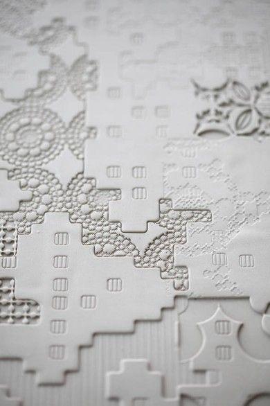 Ceramic tile by Mutina. Designed by Patricia Urquiola. #Italian #design