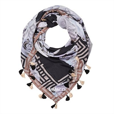 Square Scarves for Women | Mimco - GLAMAROSE SCARF